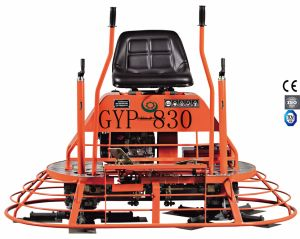 Economical Type Concrete Ride-on Power Trowel Gyp-830 with Gx390 Engine pictures & photos