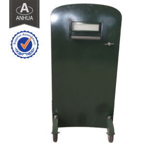 Composite Fiber Bulletproof Shield with Wheels pictures & photos