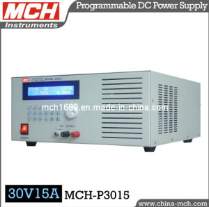 450W 30V 15A Single Channel Output Variable Programmable DC Power Supply with CE & RoHS (MCH-P3015)