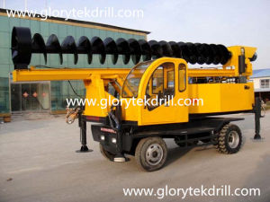 Most Popular in China L360-8m Tractor Mounted Auger Drill Rig pictures & photos