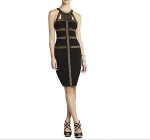 Black Hot Foil Custom Toast Dress pictures & photos