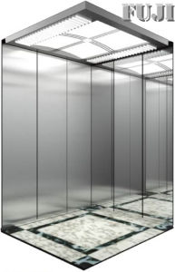 All Mirror Finish Passenger Elevator / Lift pictures & photos