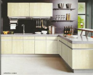Custom Made Stainless Steel Kitchen #047 pictures & photos