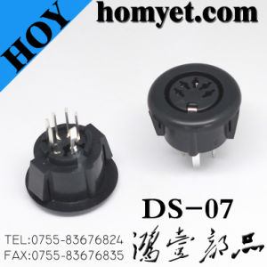 High Quality Ds Connector/S- Terminal with Five Needles for Monitor (ds-07) pictures & photos