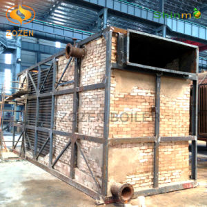 2800kw Industrial Horizontal Coal Fired Chain Hot Oil Heater
