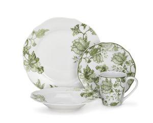 Custom Logo Porcelain Dinnerware Set pictures & photos