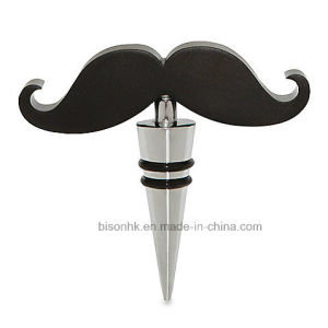 Creative Bottle Stopper, Mustache Bottle Stopper pictures & photos