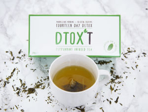 Customized Brand Dtox′t 14 Day Weight Loss Detox Tea Peppermint Infusion pictures & photos