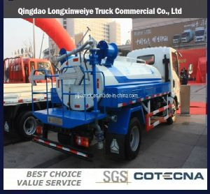 HOWO 4X2 10m3 Fuel Tank Truck pictures & photos