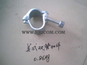 America Type Drop Forged Double Pipes Fitting Couplers for Scaffold pictures & photos