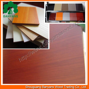 (Best Quality) Melamine Laminated MDF Board/MDF 18mm