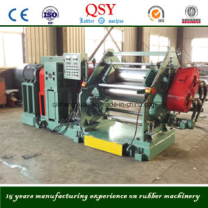 Two Roll Rubber Calender/Rubber Sheet Making Machine pictures & photos
