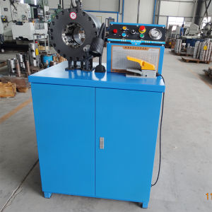 "Hot Hose Crimping Machine for 1/4""-2"" Hydraulic Hose Km-91c-5 pictures & photos"