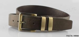 2016 Men Business Fashion Leather Belt (N0066) pictures & photos