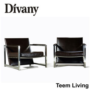 Divany Cheers Leather Sofa Recliner/Office Sofa D-16 pictures & photos