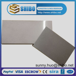 99.95% Molybdenum (moly) Polished Sheet, Mo Plate for Vacuum Equipment pictures & photos