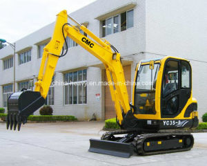 Hot Sale Yc35-8 Hydraulic Crawler Excavator (0.12m3) pictures & photos