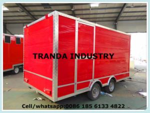 Ce Approval BBQ Smoker Mobile Food Kitchen Trailer pictures & photos
