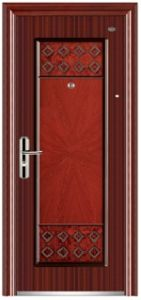 Security Steel Door for Entrance Commercial Building pictures & photos