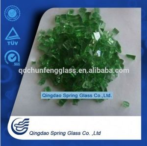 China Green Color Pire Pit Glass pictures & photos