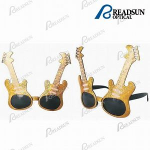 Plastic and Clssic Guitar Sunglasses, Party Sunglasses (SD028) pictures & photos