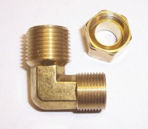 Air Compressor Elbow Brass and Steel pictures & photos