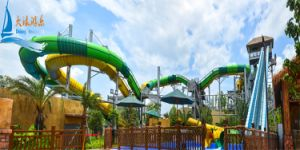 Double Roller Coaster Water Slide pictures & photos