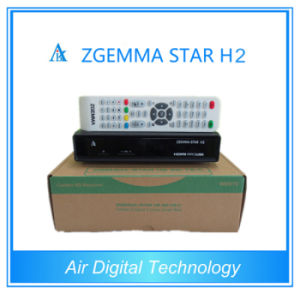 Zgemma-Star H2 DVB-S2+T2/C Satellite Receiver with Original Support pictures & photos