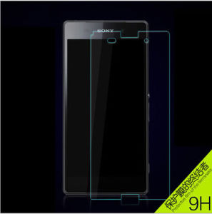 Mobile Phone Accessories Tempered Glass Screen Protective Film for Sony T3 Screen Film