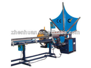 PLC Control Spiral Duct Forming Machine for Ventilation Purpose pictures & photos