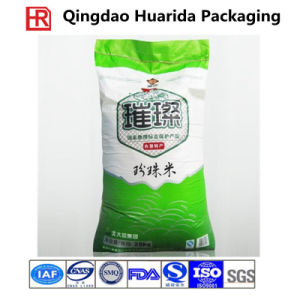 Laminated PP Woven Packaging Bag for Garin Wheat Rice pictures & photos