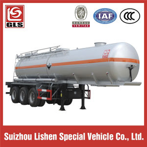 Mirror Surface Aluminum Alloy Oil Tank Semi Trailer pictures & photos