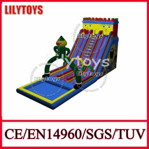 Newest Design Customize PVC Inflatable Slide with Pool (Lilytoys-New-007) pictures & photos