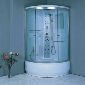 Hot Sale Bathroom Complete Sliding Steam Shower Circle Bath Cabin pictures & photos