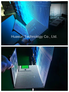 Rubik Series Flexible LED Curtain Display /LED Display Screen P10 pictures & photos