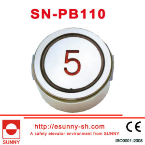 Stainless Steel Surface Push Button for Elevator (CE, ISO9001) pictures & photos