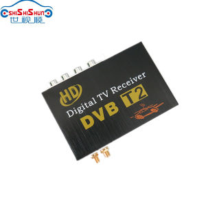 120~150km/H HD Digital TV Receiver Car DVB-T2 for Russia