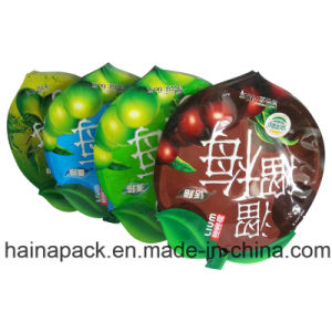Plastic Compound Printing Snack Packaging Shaped Bag