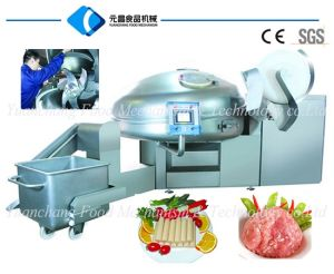 Vacuum Meat Bowl Cutter-Meat Chopper--Meat Cutter pictures & photos