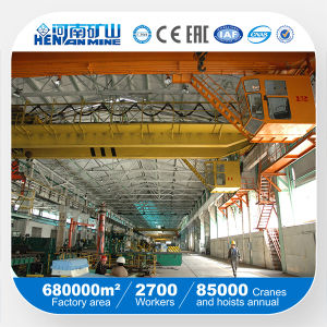Concrete Pile Production Line 5+5ton Overhead Crane pictures & photos