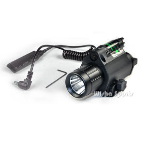 Tactical Green Laser Sight with Tactical Flashlight LED Flashlight for Airsoft Gun pictures & photos