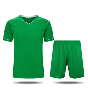 100% Polyester Custom Sublimation Soccer Jerseys in China pictures & photos