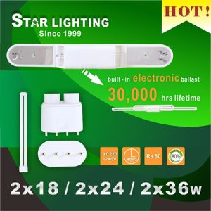 Hot Sale 2X36W U Tube Plug-in Fixture Fpl