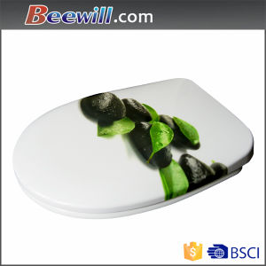 Customer Design Pattern Duroplast Quick Release Soft Close Toilet Seat pictures & photos