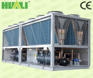 Shell and Tube Type Air Water Screw Chiller with Cooling Capacity 130kw Customized Refrigerant pictures & photos