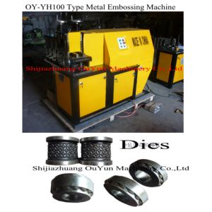 Oy-Yh100 Cold Rolling Embossing Machine for Wrought Iron Decoration pictures & photos