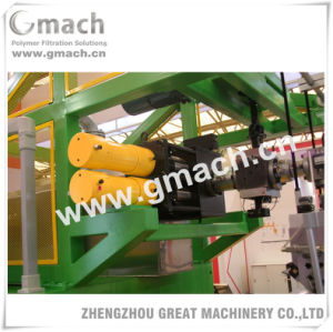 Continuous Screen Changer for Two-Side Direction Stretch Film Extrusion Line pictures & photos