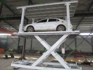Basement Parking Scissor Car Lift for Sale pictures & photos