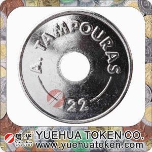 Hot New Products for 2014 Silver MID-Hole Token pictures & photos