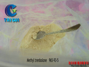99% Muscle-Building Powder Methyl Trenbolone 965-93-5 Methyltrienolone pictures & photos